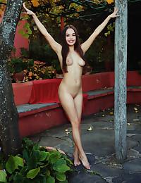 Li Moon naked in erotic..
