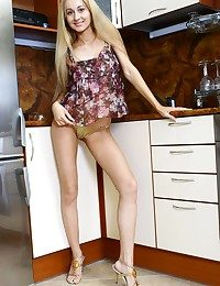 Striptease in a bootie