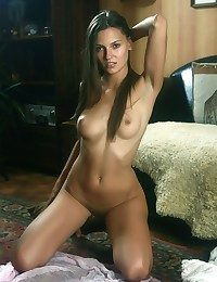 Tanned hottie with..